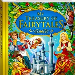 HARD COVER BOOK MY TREASURY OF FAIRYTALES